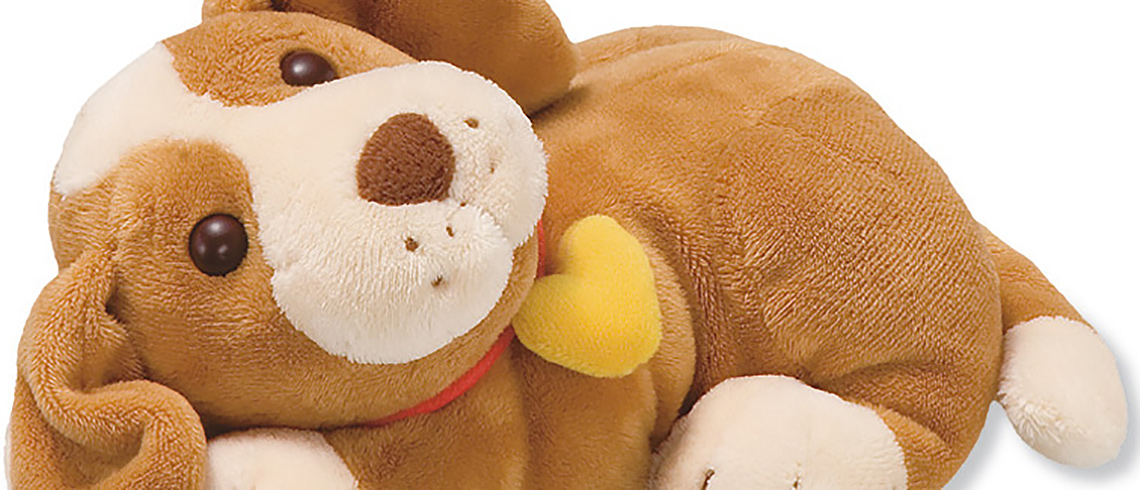 Soft toy puppy
